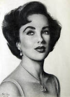 Elizabeth Taylor by noeling