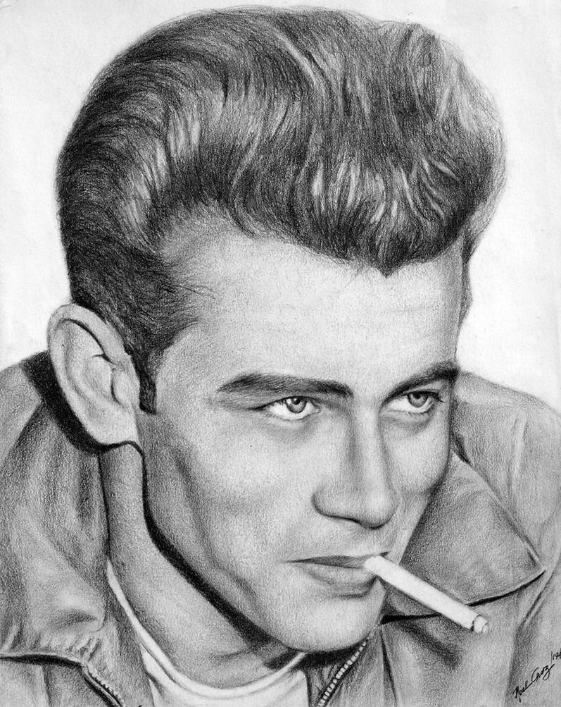 James Dean - The 50s Rebel by noeling