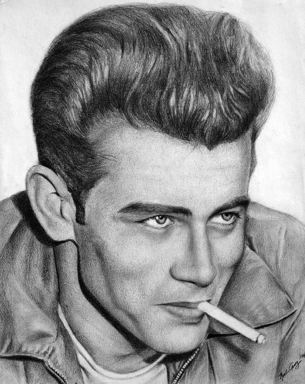 James Dean - The 50s Rebel by noeling