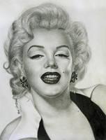 alluring Marilyn Monroe by noeling