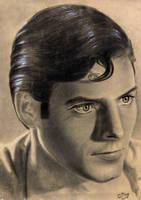 Christopher Reeve as Superman by noeling