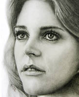 Lindsay Wagner The Bionic Woman Up Close by noeling