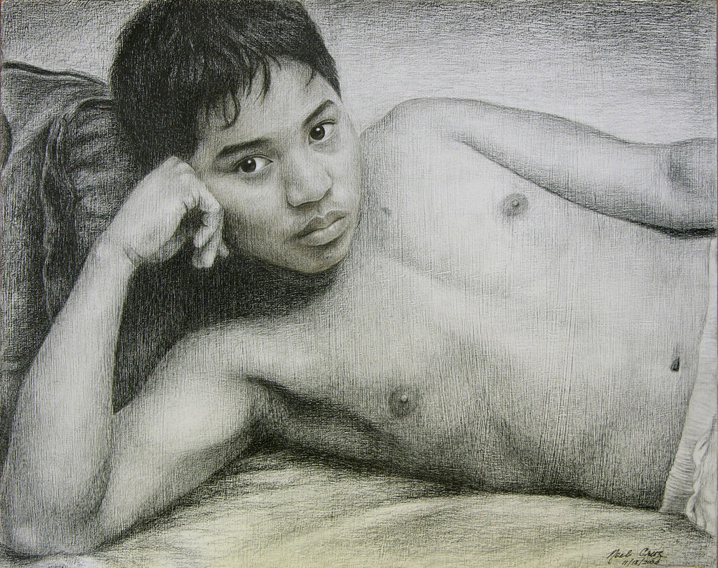 Son James at 14 by noeling