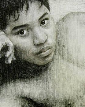 Son James at 14 - Detail