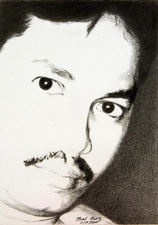 Light N Shadow-A Self Portrait by noeling