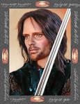 Doll repainted as Aragorn