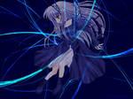 Blue Anime Wallpaper