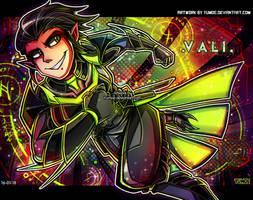 3-x-e Vali - Commission by Yumoe
