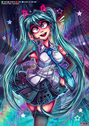 Miku Hatsune Fanart - Vocaloid2