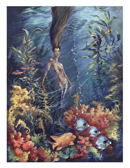 Mermaid by sheldonsartacademy