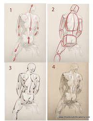 Tutorial - Figure Drawing 03 by sheldonsartacademy