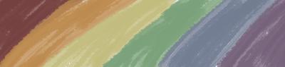 Desaturated Rainbow by SoshiMariko