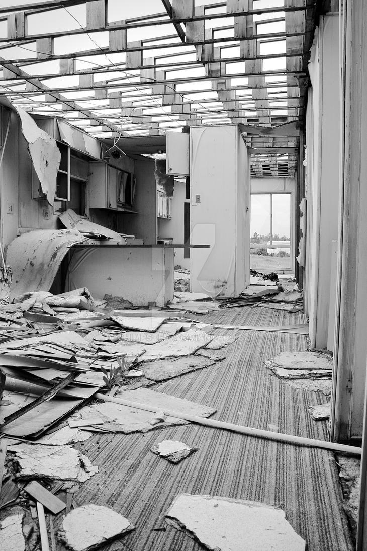 Abandoned Mobile Home Inside By Chimpster7 On Deviantart
