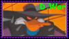 Darkwarrior Duck Stamp by Shade-Hero-Project-X