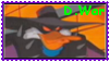 Darkwarrior Duck Stamp by Shade-Hero-Project-X