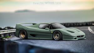Ferrari F50 graugruen