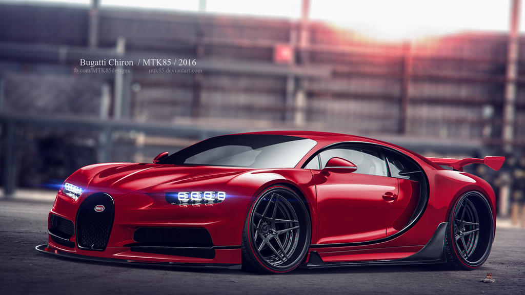 Bugatti Chiron By Mtk85 On Deviantart