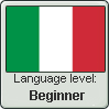 Italian Language Level: Beginner by JMCV29