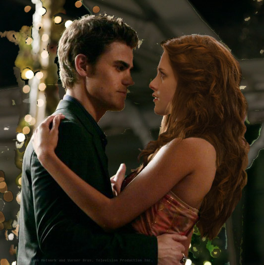 Stefan Salvatore + Bella Swan by nackmu