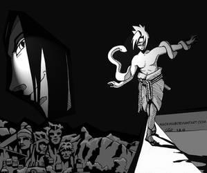 Sasuke - dancing with the devil by nackmu