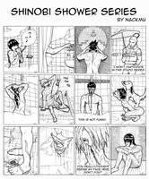 Shinobi Shower Series by nackmu