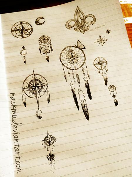 Dreamcatcher SKETCHES (unfinished) by nackmu
