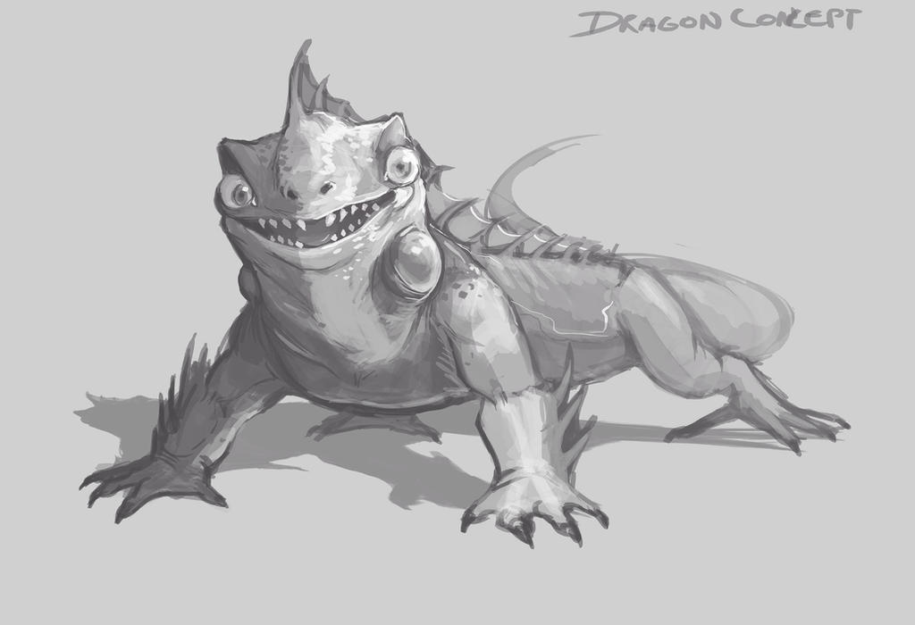 Dragon concept by papercat