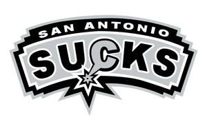 Spurs Suck