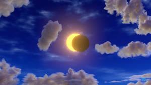 Solar Eclipse, Blender Animation + video link