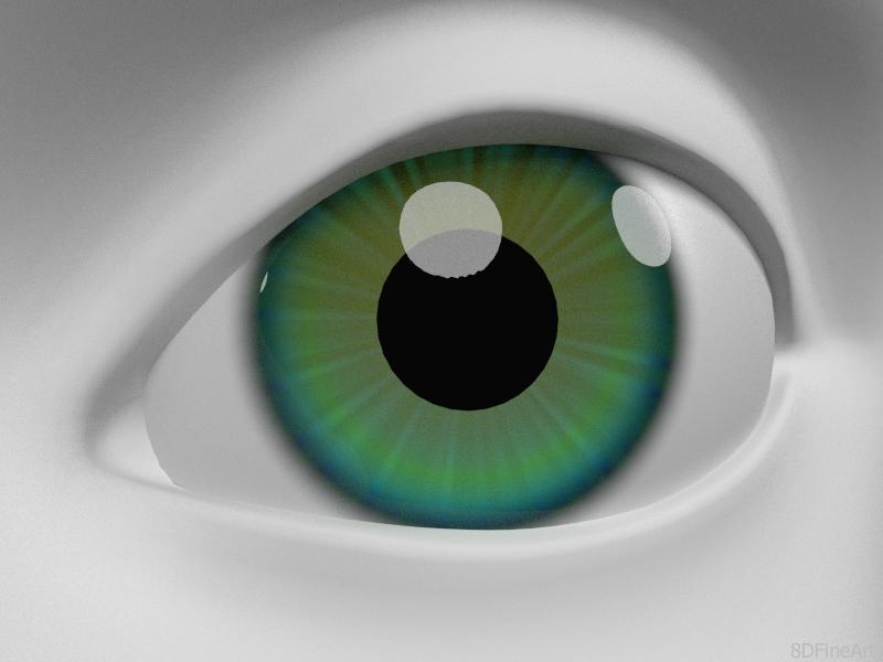 Eye by 8DFineArt