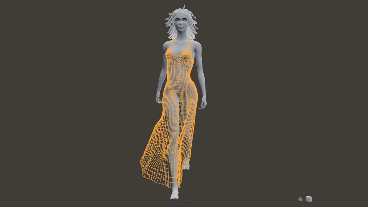 Character Model Animation Catwalk, youtube video by 8DFineArt
