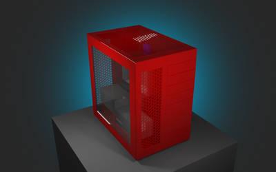 Fanless SLI PC Case Design by 8DFineArt