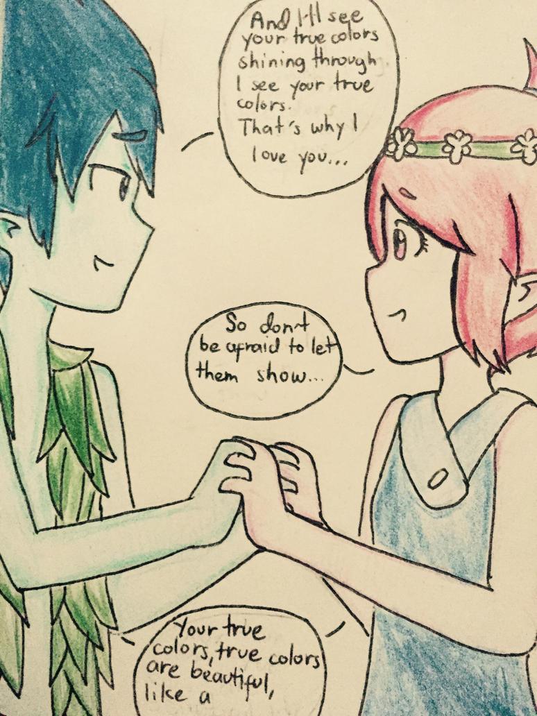 Trolls Anime by CyrizScarlet