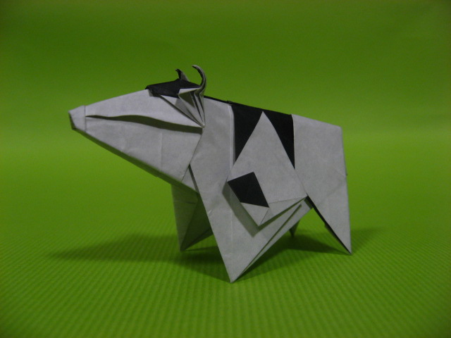Origami Cow By GEN H