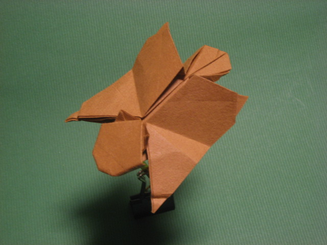 Origami Flying Squirrel By GEN H