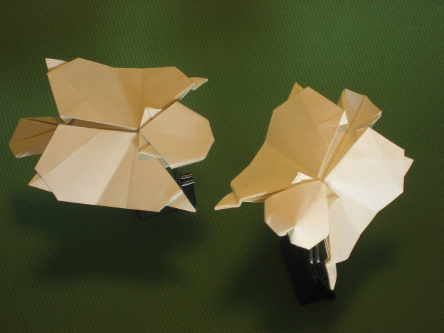 Origami Flying Squirrel 003 By GEN H