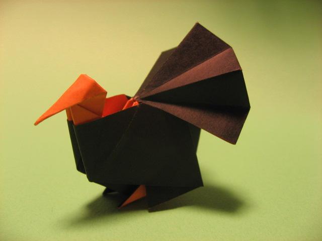 Origami Turkey By Gen H On Deviantart