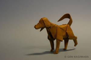 Origami Labrador by GEN-H