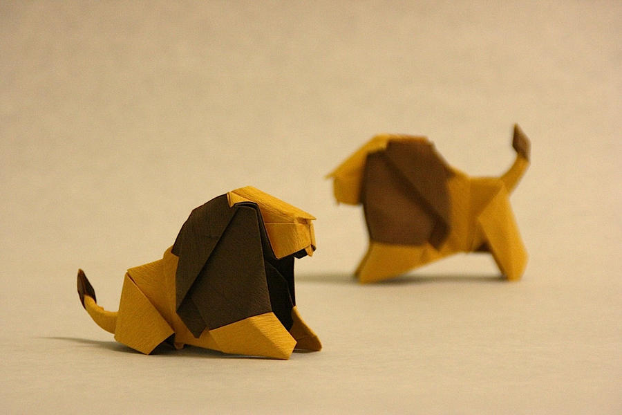 Origami Lion By GEN H