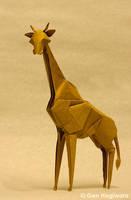 Origami Giraffe by GEN-H