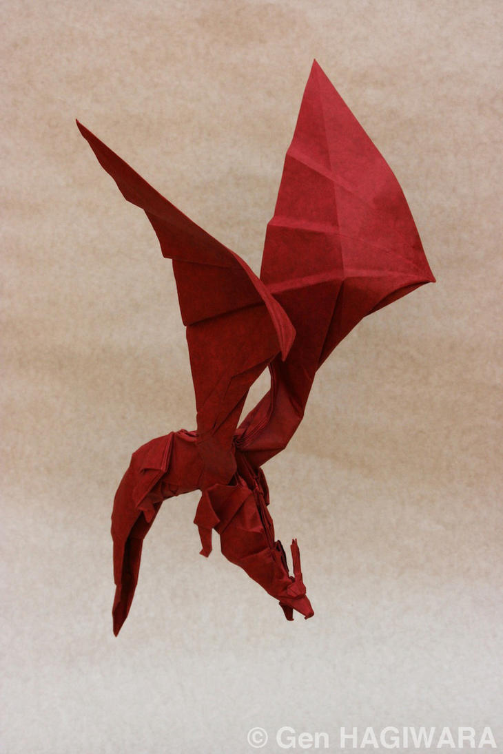 Origami Dragon by GEN-H
