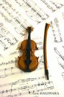 Origami Violin by GEN-H