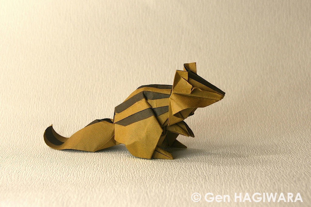 Origami Chipmunk by GEN-H