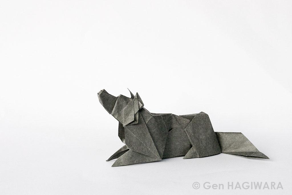 Origami Wolf By Gen H On Deviantart