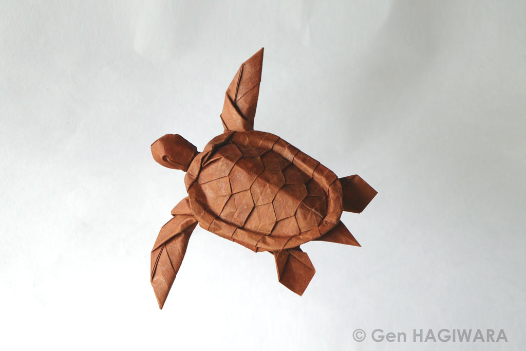 Origami Sea Turtle by GEN-H