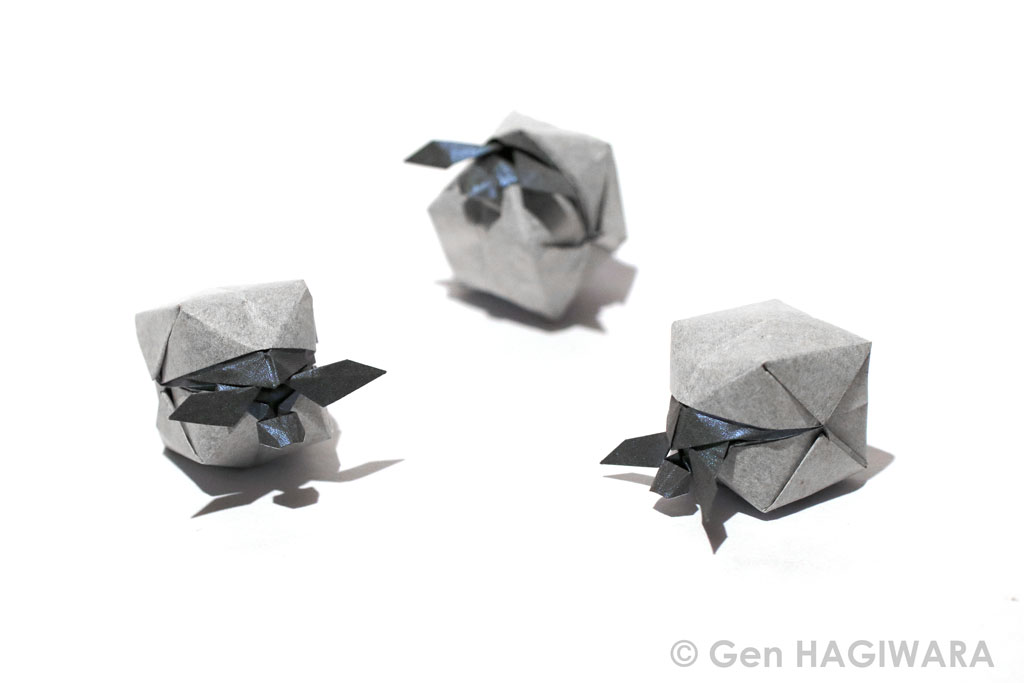 Origami Hatching sea turtle by GEN-H