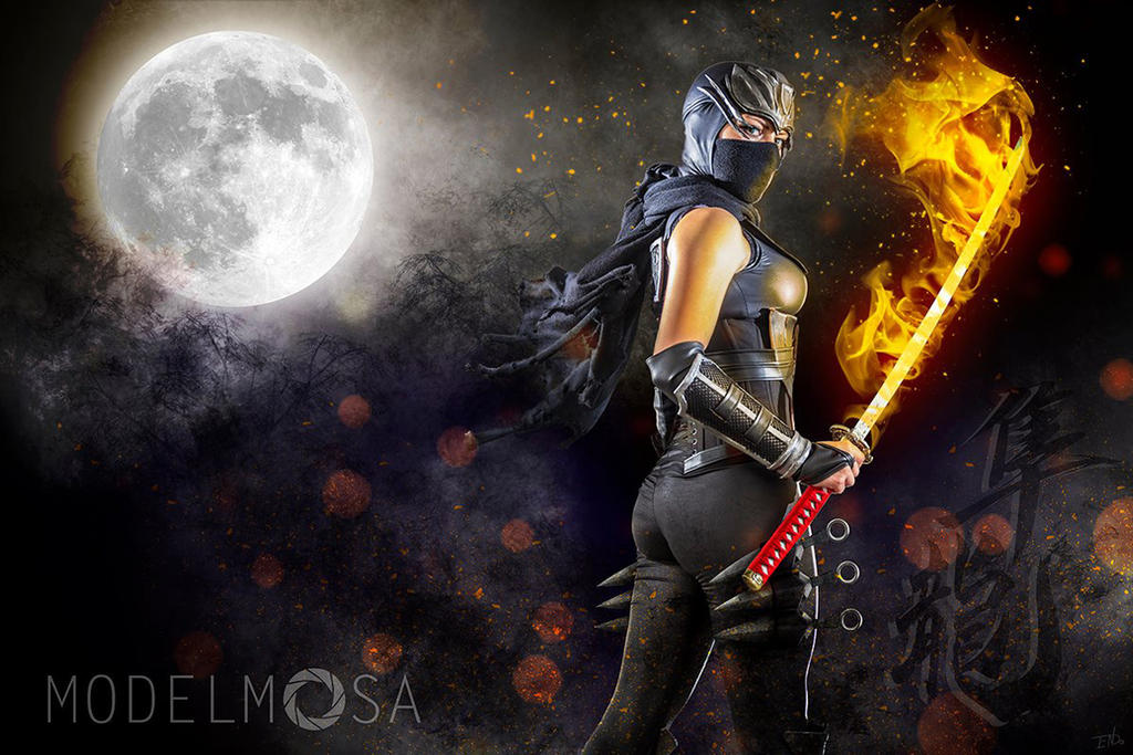 Female Hayabusa by nadyasonika