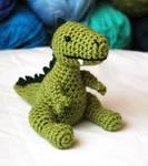 Baby Dino Amigurumi Plush