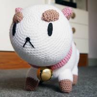 PuppyCat Amigurumi Plush - Wide angle by kaelby