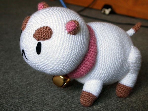 PuppyCat Amigurumi Plush by kaelby